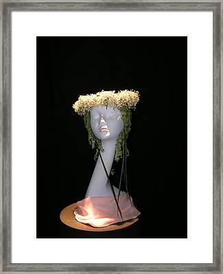 Summer  Head Framed Print