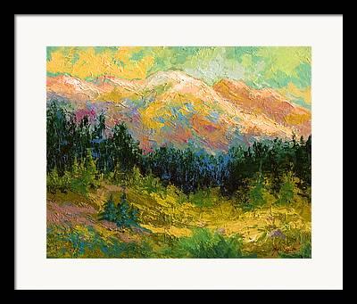 Alaska Landscapes Framed Prints