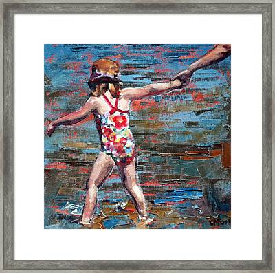 Summer Holiday IIi Framed Print by Claire McCall