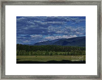 Summer In Cades Cove Framed Print