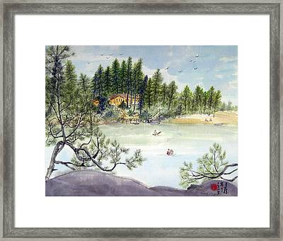 Summer In Canada Framed Print by Ying Wong