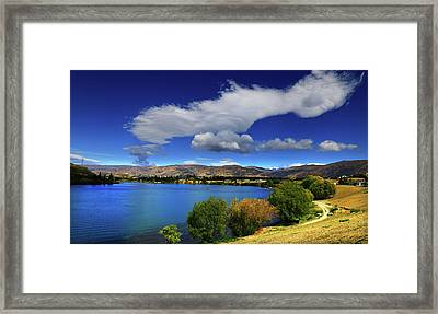 Summer In Central Framed Print