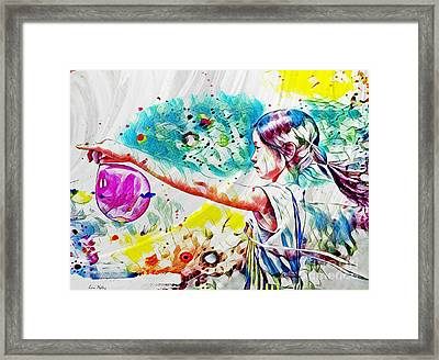 Summer In China Framed Print