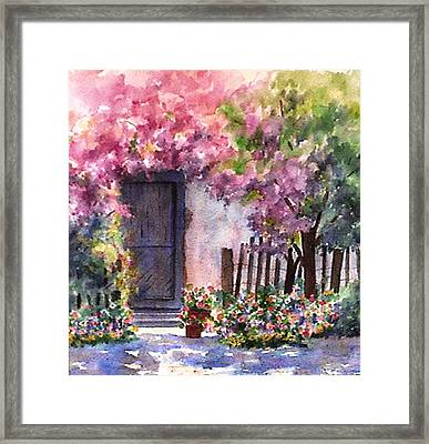 Summer In Santo Tomas Framed Print
