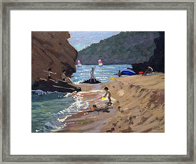 Summer In Spain Framed Print by Andrew Macara