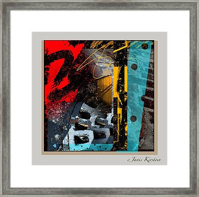 Summer In The City 2 Framed Print by Janis Kirstein