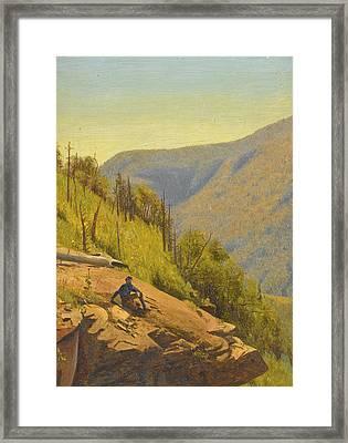 Summer In The Hills 2 Framed Print