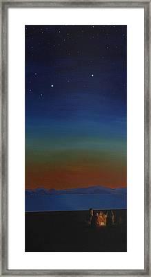 Summer In The Northwest Framed Print by Jennifer Lynch