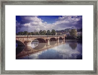 Summer In Turin  Framed Print by Carol Japp
