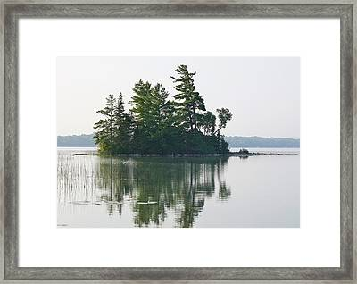 Summer Island Framed Print