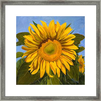 Summer Joy Framed Print by Billie Colson