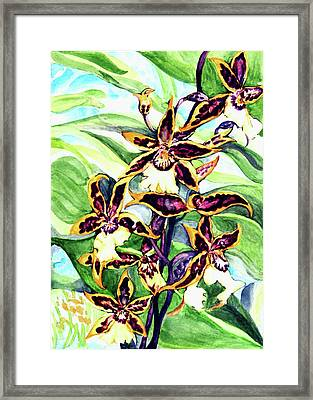 Summer Joy Framed Print by Hye Ja Billie