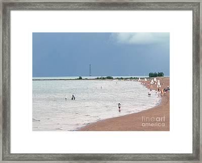 Summer Lake Framed Print by David Bearden