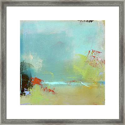 Summer Landscape Framed Print by Jacquie Gouveia