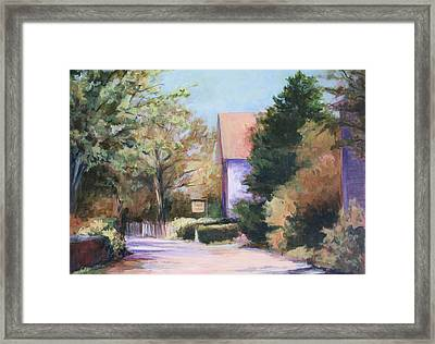 Summer Lane Framed Print by Vikki Bouffard