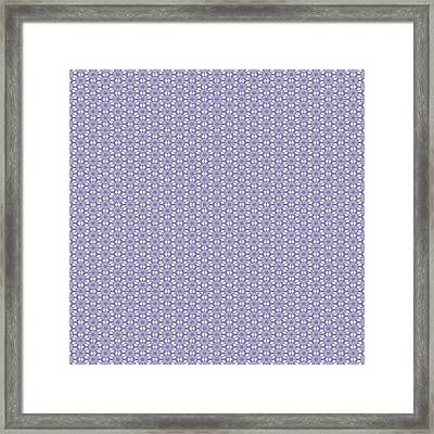 Summer Lilac Lace Framed Print by Georgiana Romanovna