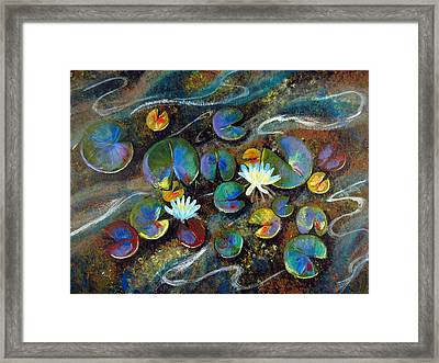 Summer Lillies Framed Print