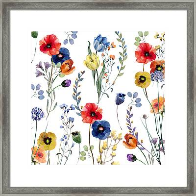 Summer Linen Framed Print
