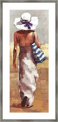Summer Il Framed Print by Matthew Myles