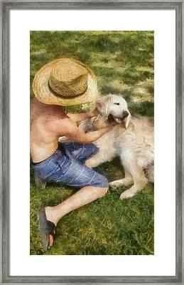 Summer Lovin Framed Print by Michelle Calkins