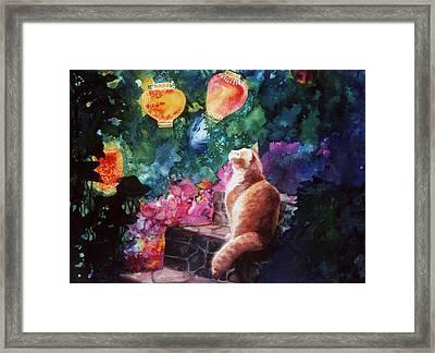 Summer Magic Framed Print by Valerie Aune