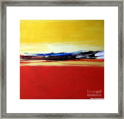 Summer Framed Print by Mario Zampedroni