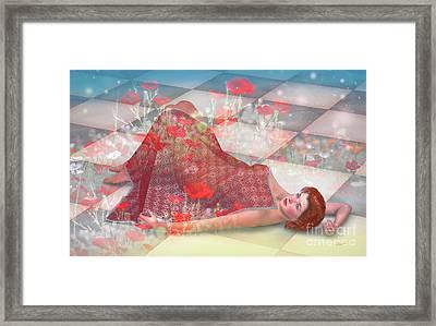 Summer Melody Framed Print by Jutta Maria Pusl