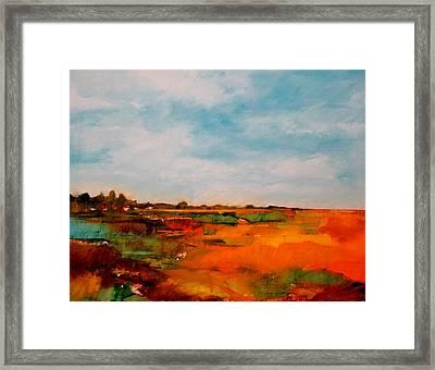 Summer Midday Framed Print by Dan  Boylan