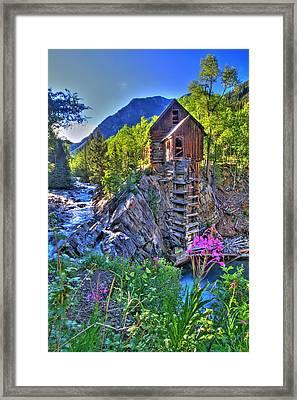 Summer Mill Framed Print by Scott Mahon