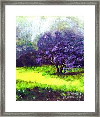 Framed Print featuring the painting Summer Mist by Patricia Griffin Brett