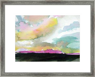 Summer Monsoon Framed Print