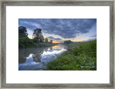 Summer Morning At 03.37 Framed Print