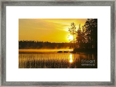 Summer Morning At 3.14 Framed Print