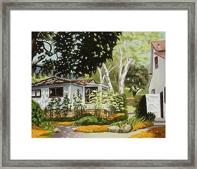 Summer Morning Framed Print by Christie Michael