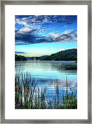 Summer Morning On The Lake Framed Print by Thomas R Fletcher