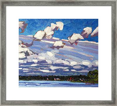 Summer Morning Framed Print by Phil Chadwick