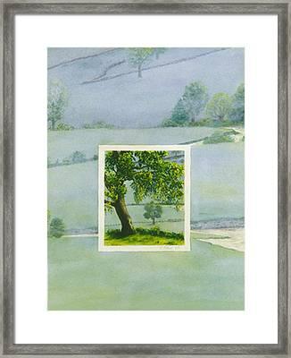 Summer Framed Print by Nancy  Ethiel