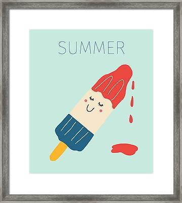 Summer Framed Print by Nicole Wilson
