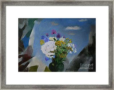 Summer Night Framed Print by Jukka Nopsanen