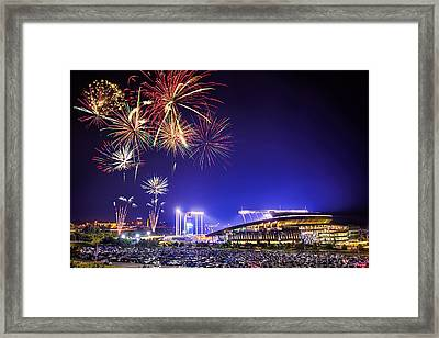 Summer Nights At The K Framed Print by Thomas Zimmerman