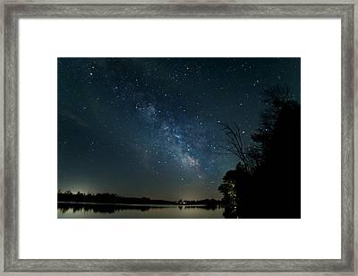 Summer Nights In Northern Michigan Framed Print