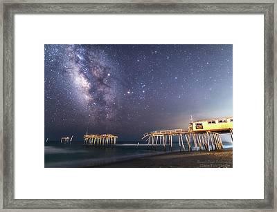 Summer Nights Framed Print
