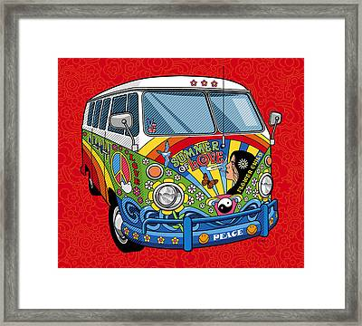 Summer Of Love Framed Print