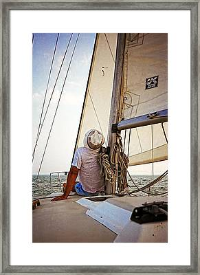 Summer On Lake Erie Framed Print