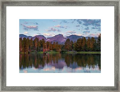 Summer On Sprague Lake Framed Print