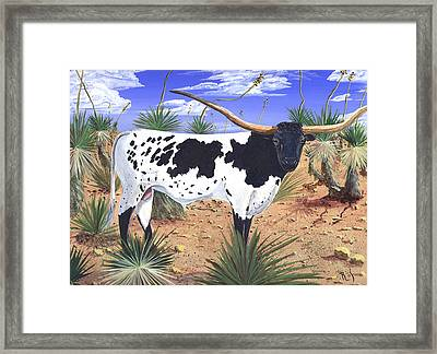 Summer On The High Mesa Framed Print by Dan RiiS Grife