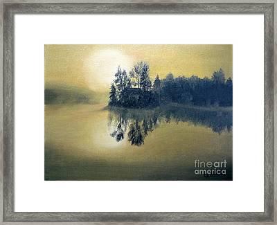 Summer On The Island Framed Print