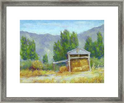Summer On The Ranch Framed Print by David King
