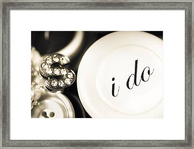 Summer Or Spring Wedding Details Framed Print by Jorgo Photography - Wall Art Gallery
