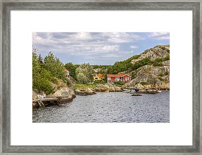 Summer Paradise Framed Print by Kristina Rinell
